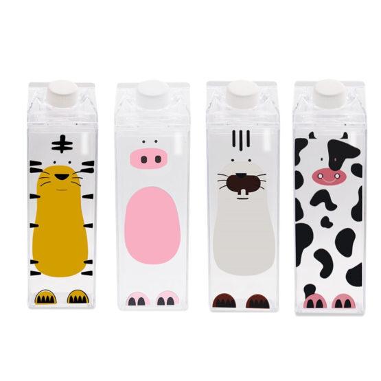 Cute Cartoon Milk Cow Bottles