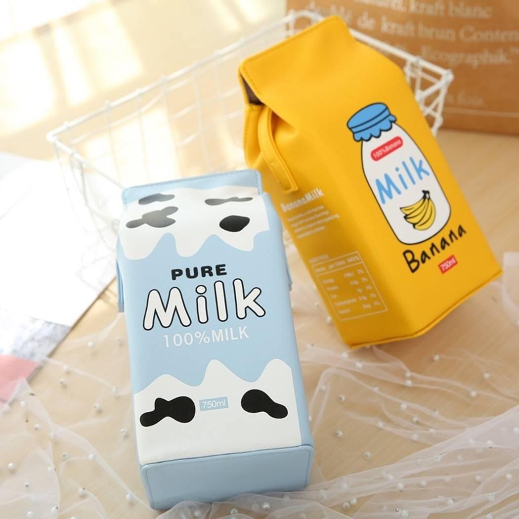 Kawaii Milk Bag