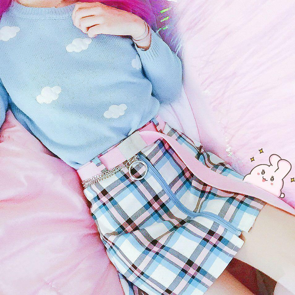 Kawaii Pastel Clouds Sweater – Special Edition