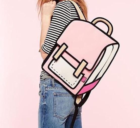 Cute 3D Cartoon Kawaii Backpack