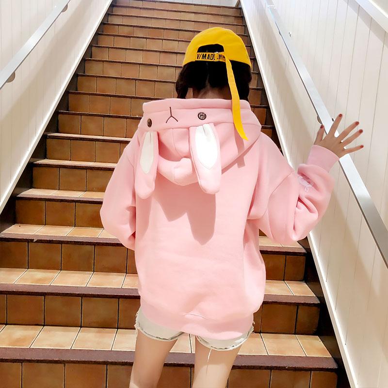 Kawaii Bunny Ears Harajuku Hoodie – Limited Edition