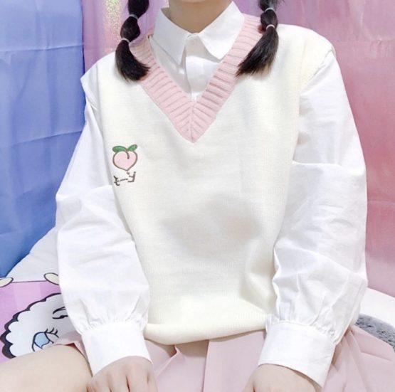 Kawaii Harajuku College Sweater – Limited Edition