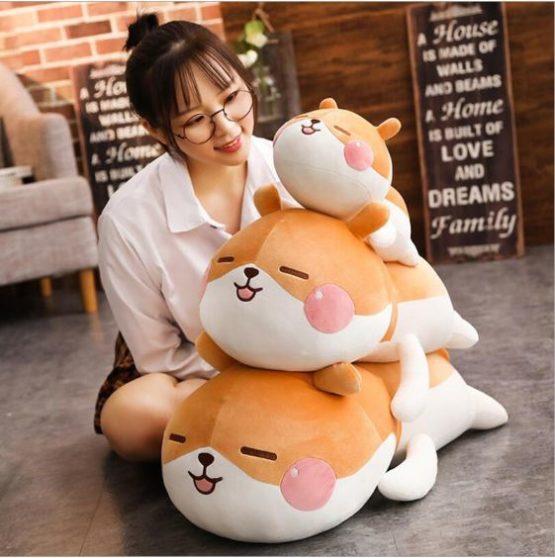 Kawaii Cheeky Hamster Plush (55cm)
