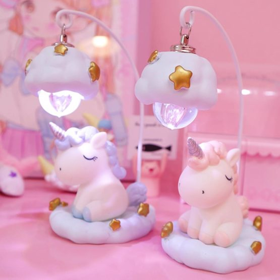 Kawaii Unicorn Starlight Night Lamp
