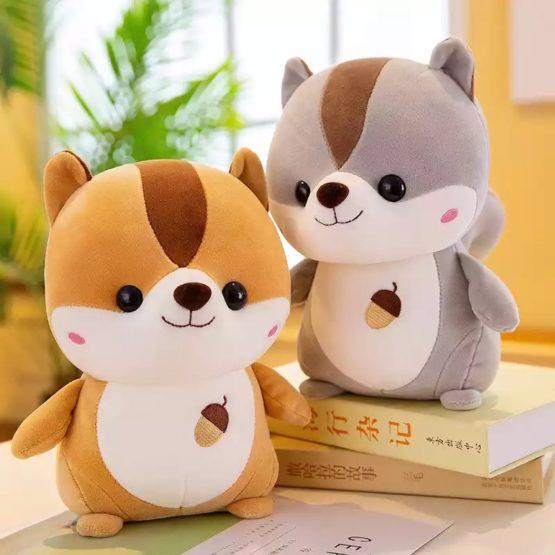 Kawaii Squirrel Chubby Plush (35cm)