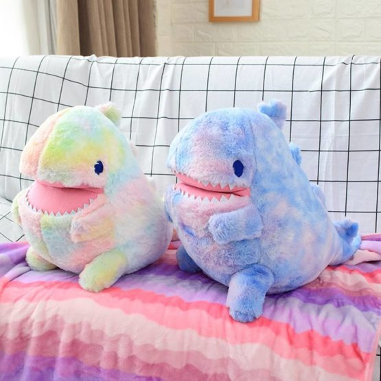 Kawaii Dinosaur Shark Plush (60cm) – Limited Edition