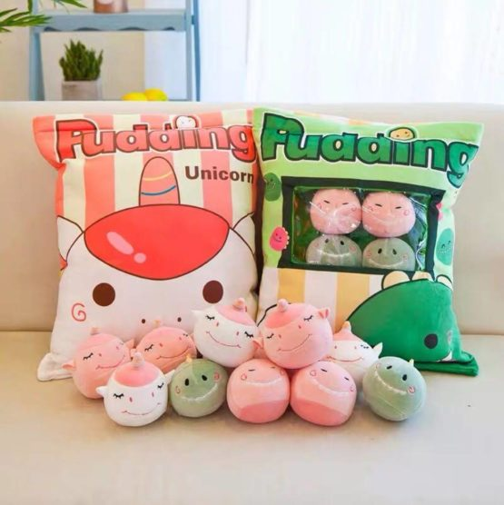 Kawaii Dino Unicorn Dolls in a Bag (8pcs)