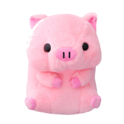 Kawaii Chubby Pig Plush