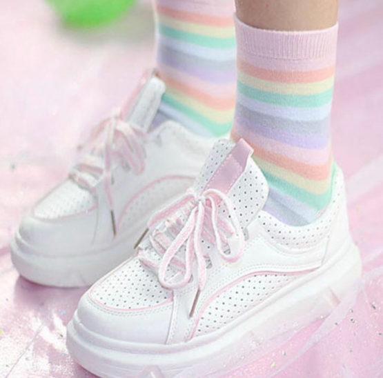 Kawaii Pastel Harajuku Socks