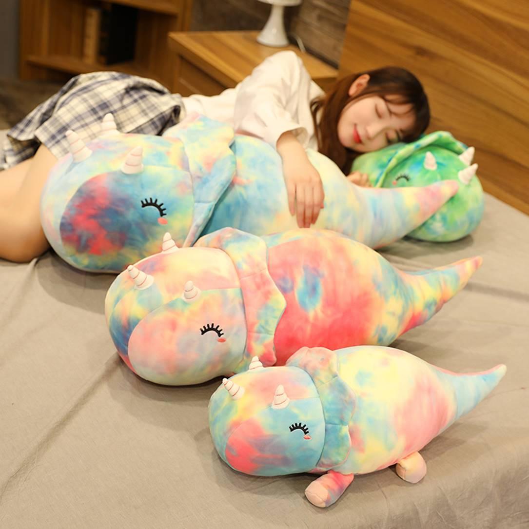 Kawaii Dinosaur Rhino Plush (70cm) – Limited Edition