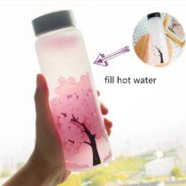 Color Changing Sakura Bottle