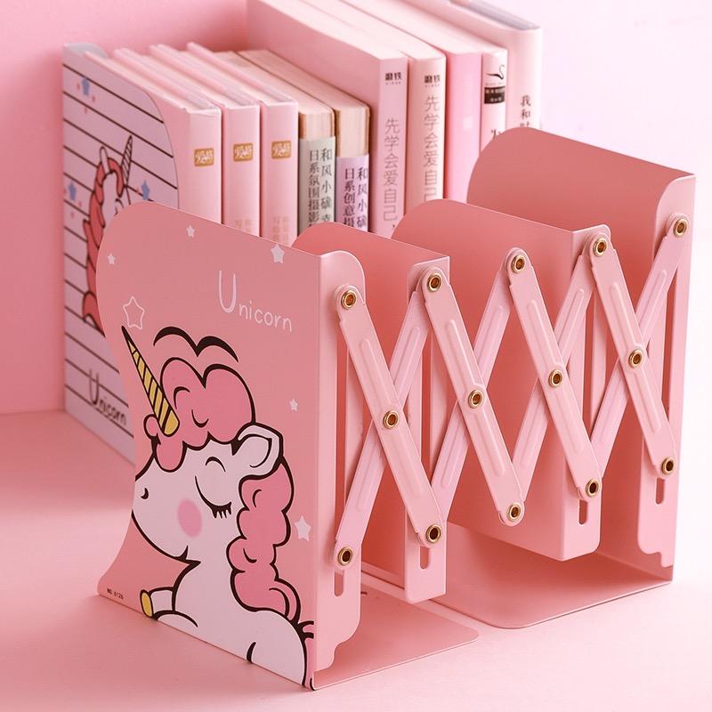 Kawaii Unicorn Retractable Desk Book Holder