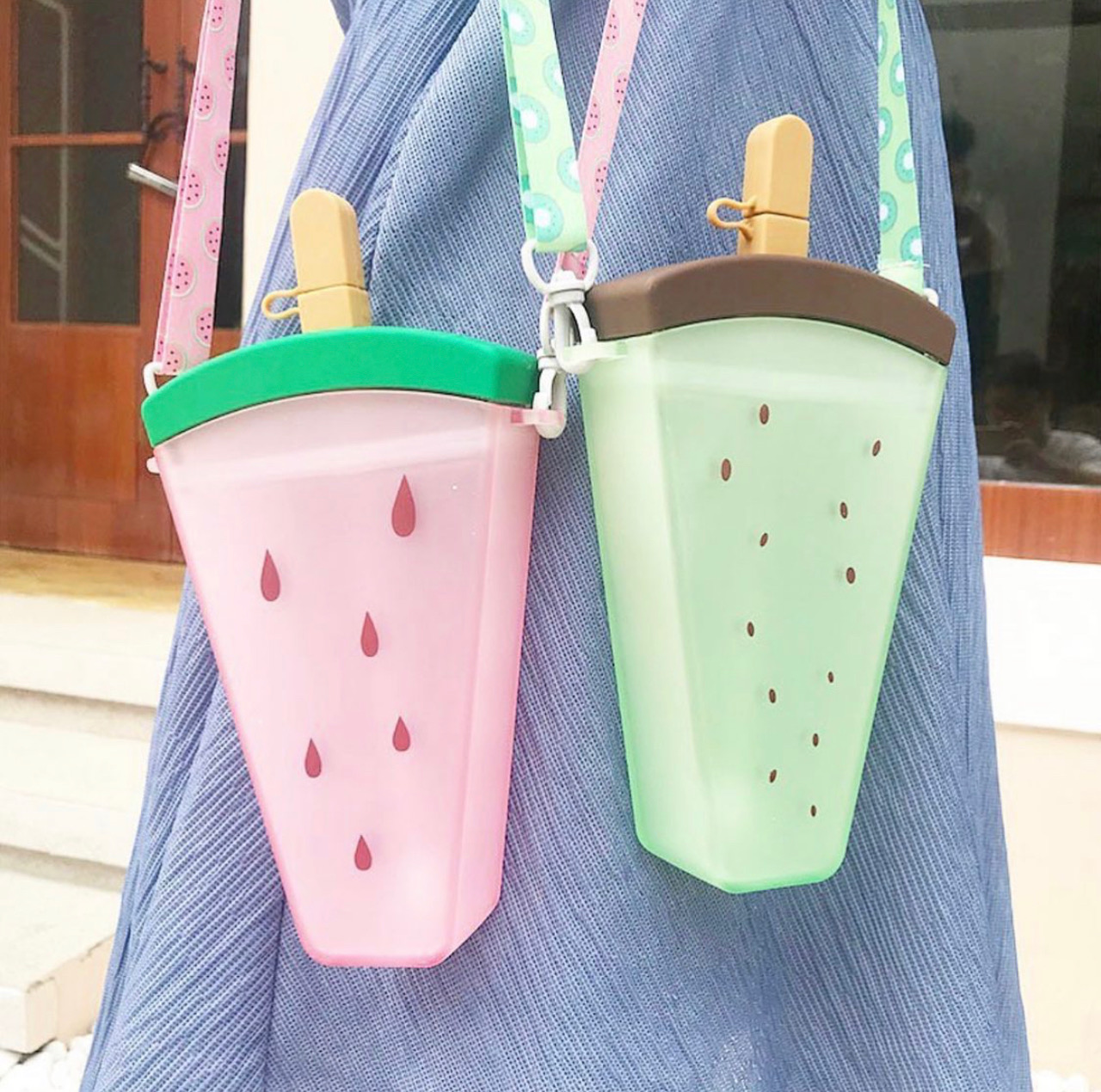 Kawaii Ice Cream Fruit Bottle (350ml)