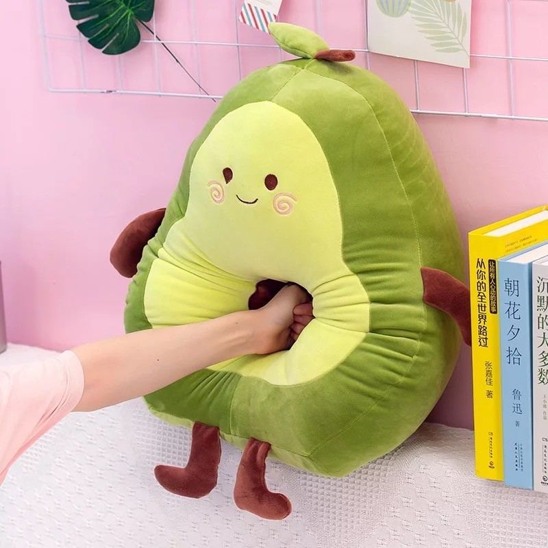Kawaii Chubby Avocado Plush XL (65cm)