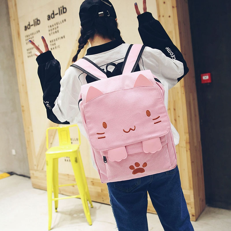 Kawaii Neko Cat Harajuku Backpack