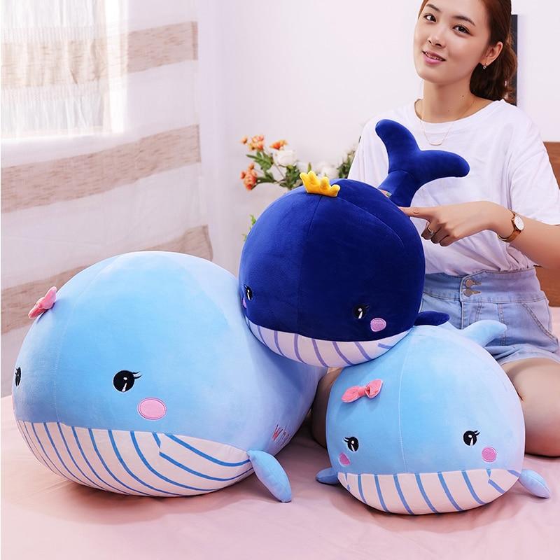 Kawaii Whale Plush Jumbo Edition (90cm)