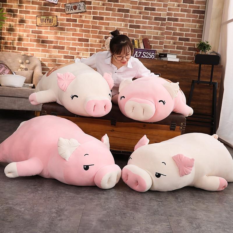 Kawaii Pig Plush Jumbo Edition (70cm)