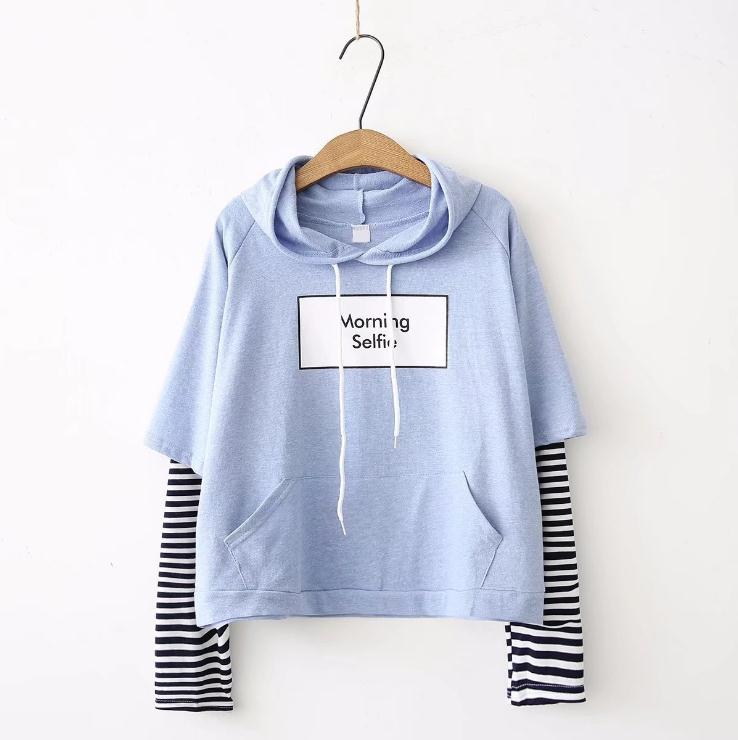Kawaii Morning Selfie Harajuku Sweater – Limited Edition
