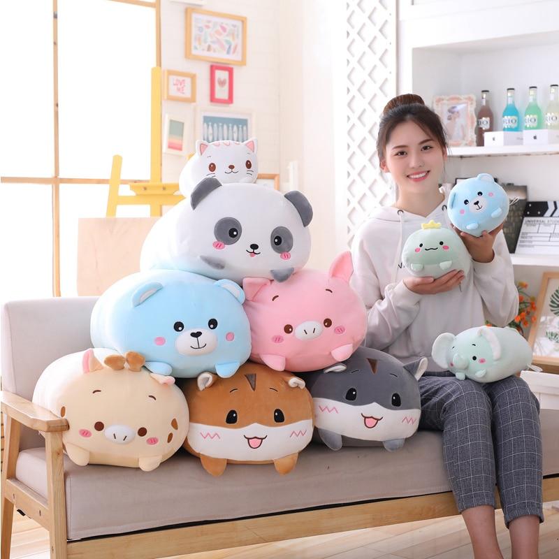 Kawaii Animal Mochi Dolls (20cm)