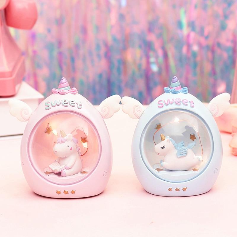 Kawaii Sweet Unicorn LED Lamp