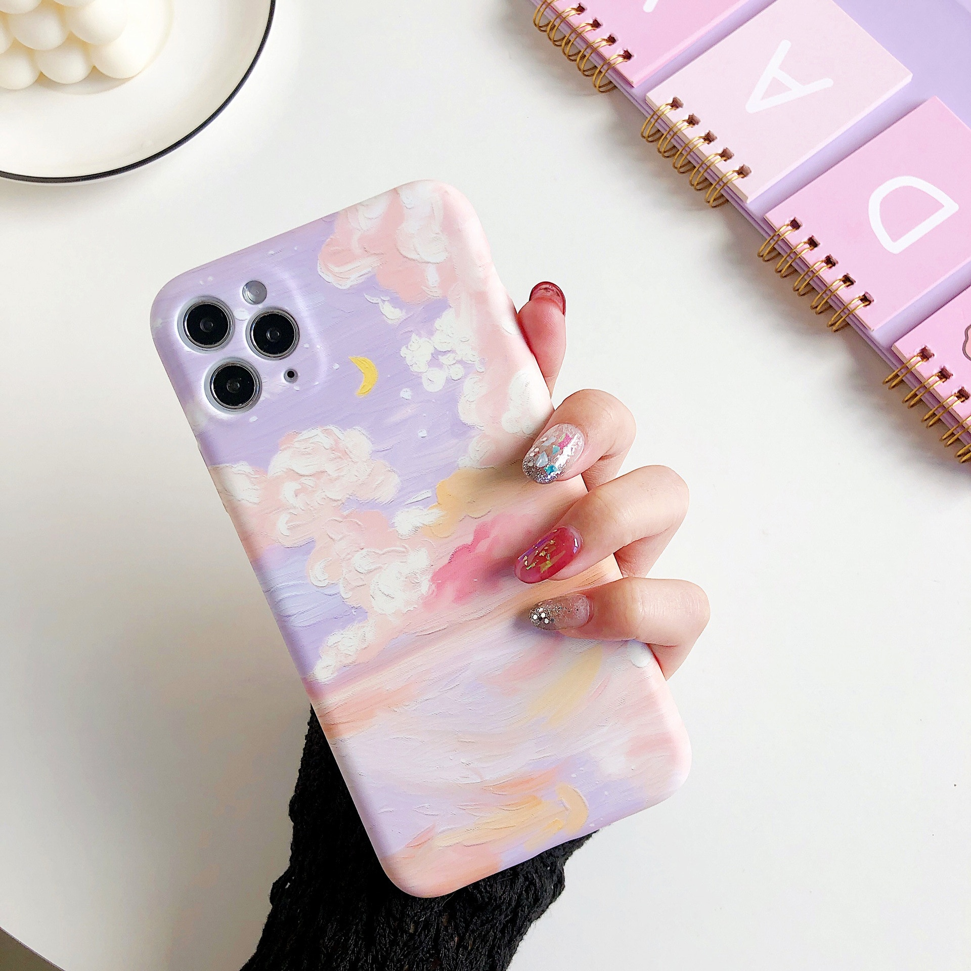 Kawaii Pastel Clouds Phone Case