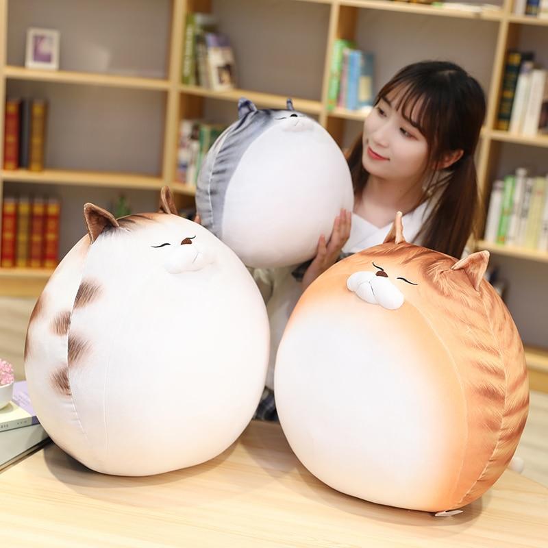 Kawaii Chubby Round Cat Plush XL (50cm)