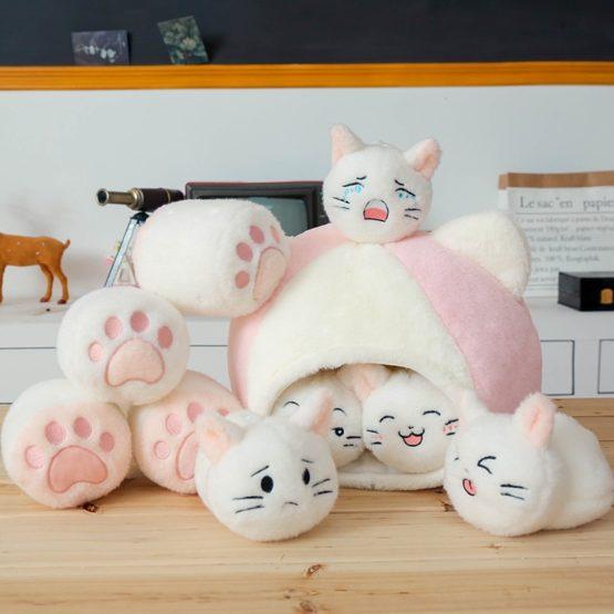 A Little House of Kawaii Cat Dolls