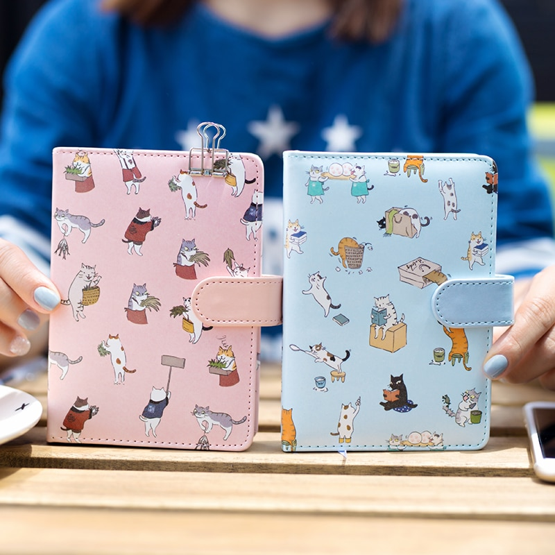 Cute Cat Japanese Style Notebook