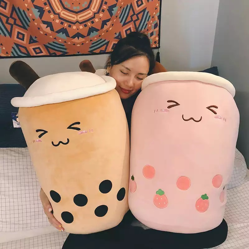 Kawaii Bubble Milk Tea Plush XL (50cm)
