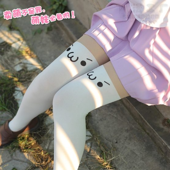 Kawaii Japanese Style Cosplay Stockings