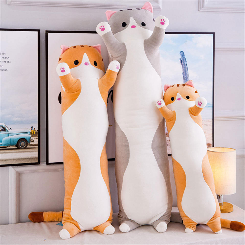 Kawaii Long Cat Pillow Plush XL (90cm)