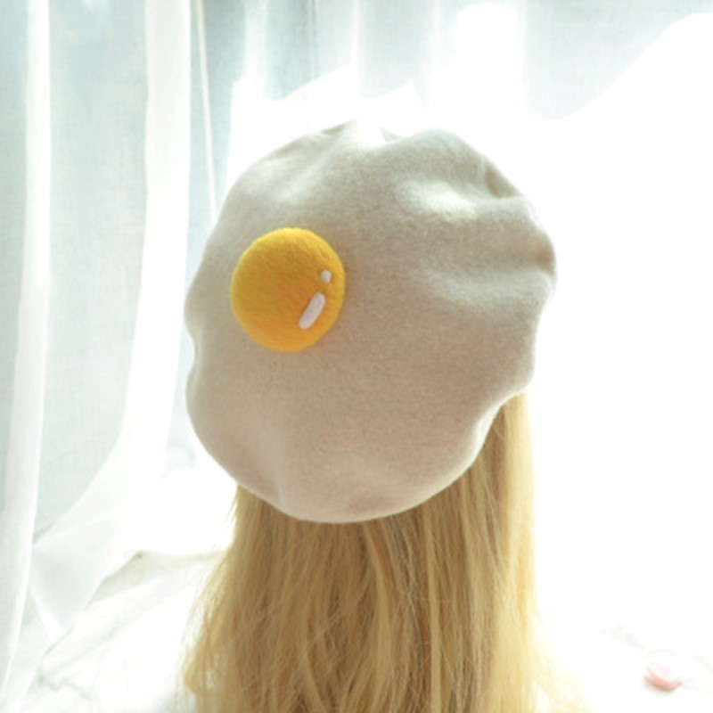 Kawaii Egg Beanie – Limited Edition