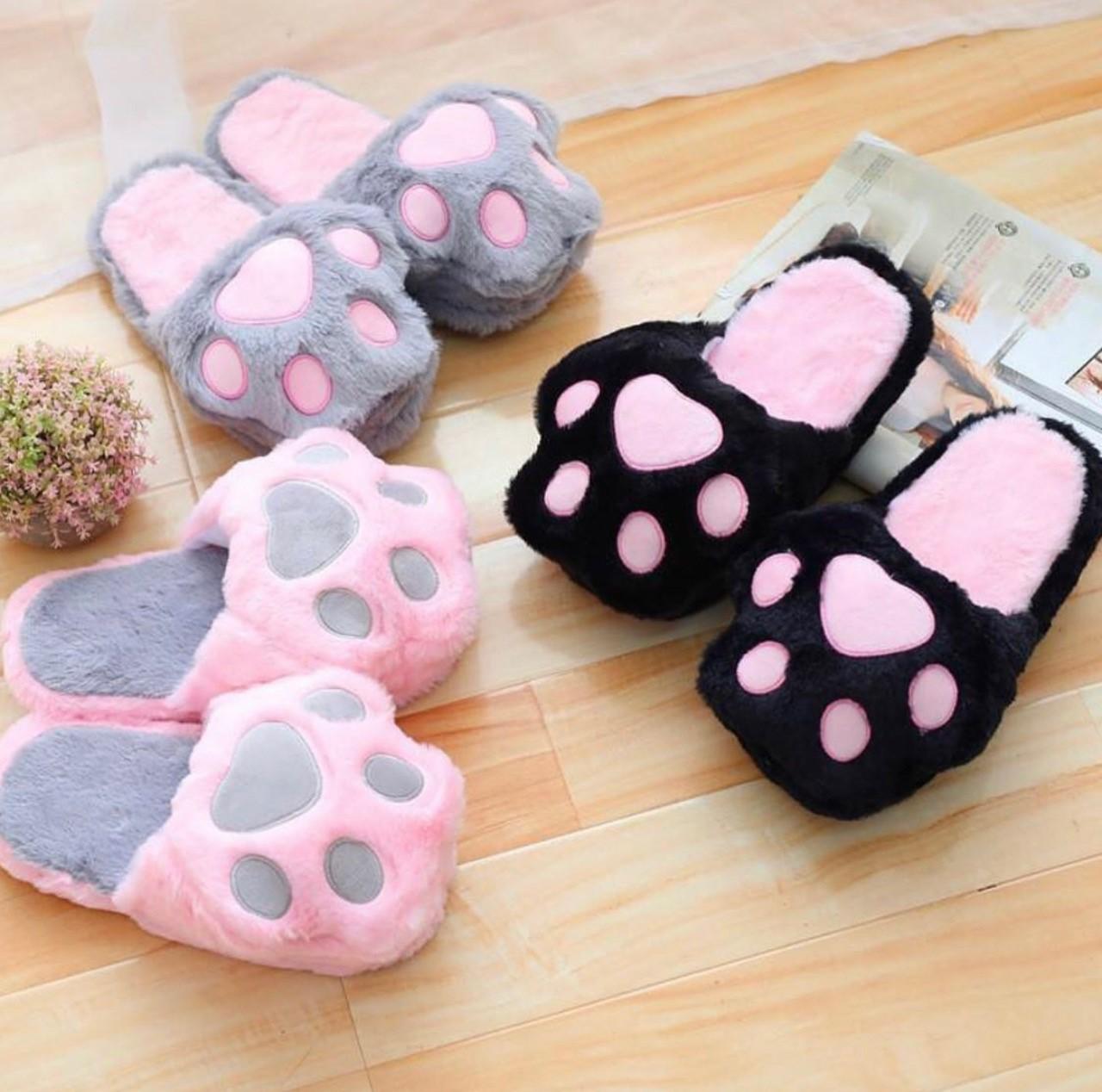 Kawaii Neko Cat Paw Slippers – Special Edition