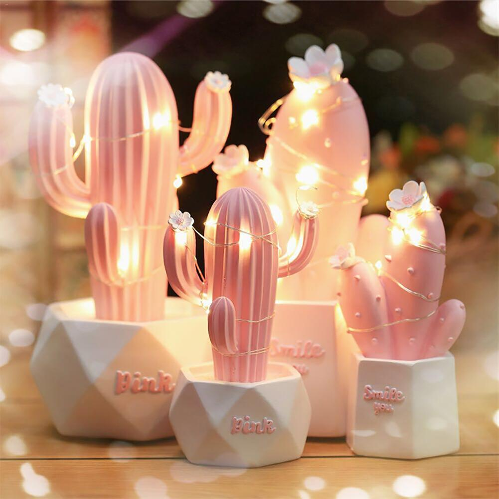 Kawaii Cactus Night Lamp – Limited Edition