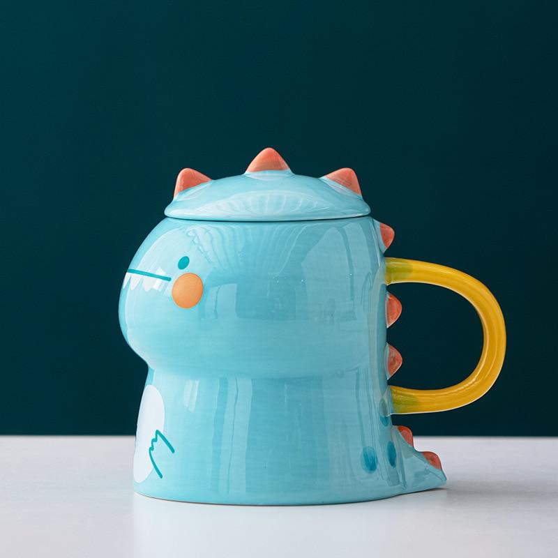 Kawaii Dinosaur Ceramic Cup – Limited Edition