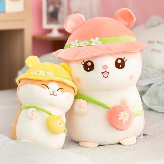 Kawaii Chubby Hamster Plush (30cm) – Limited Edition