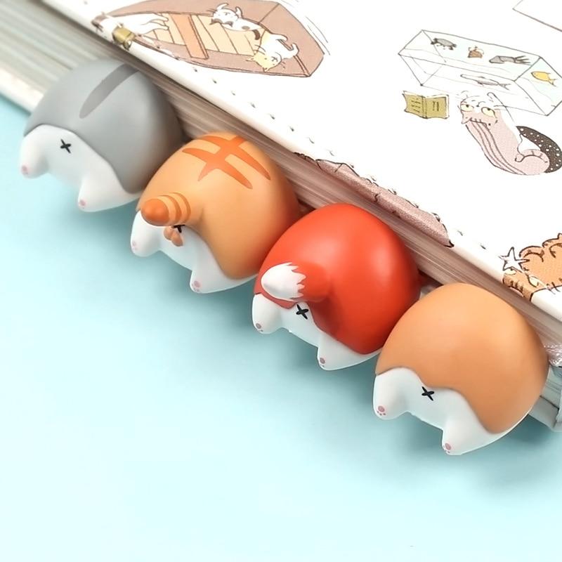 Kawaii Corgi Hamster Bookmark
