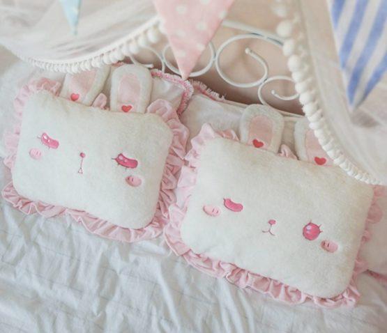 Kawaii Harajuku Bunny Ears Cushion Pillow