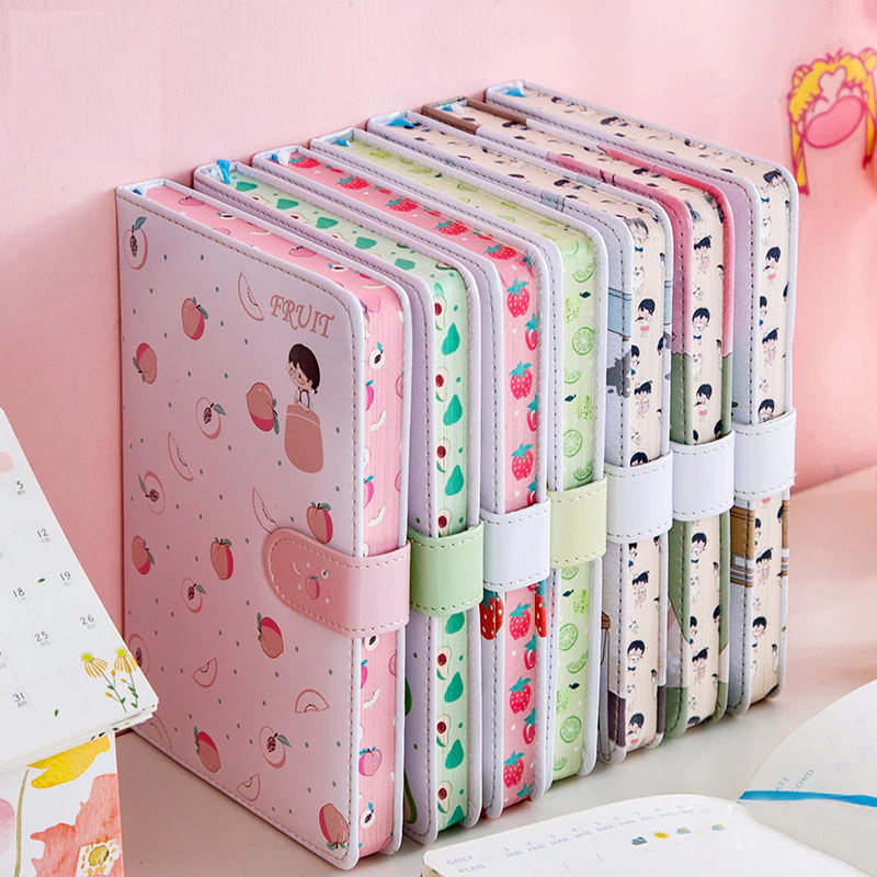 Kawaii Fruit Notebook Planner Diary – Limited Edition