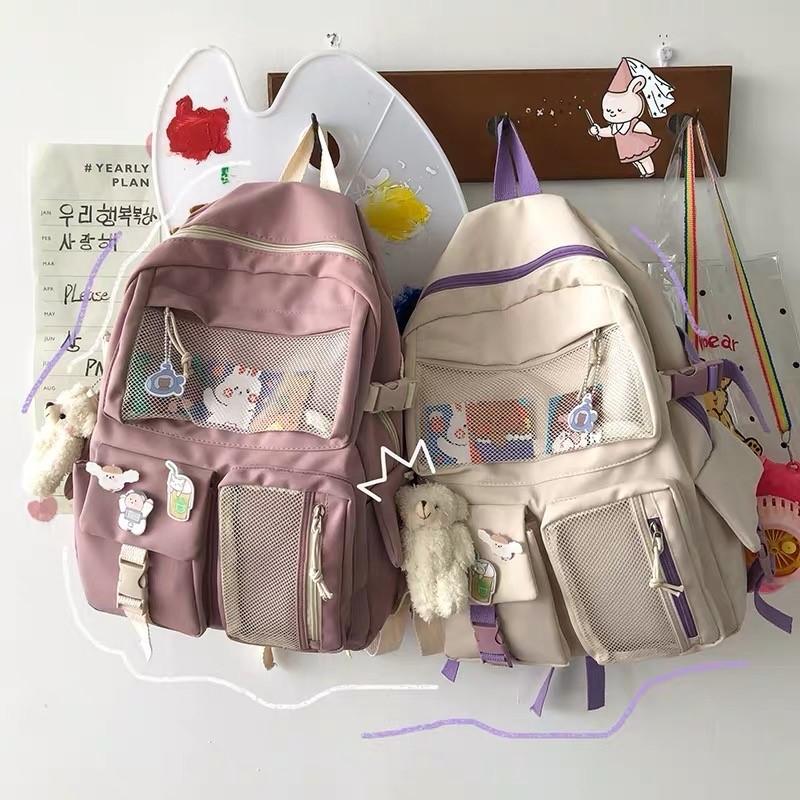 Kawaii Harajuku Style College Backpack