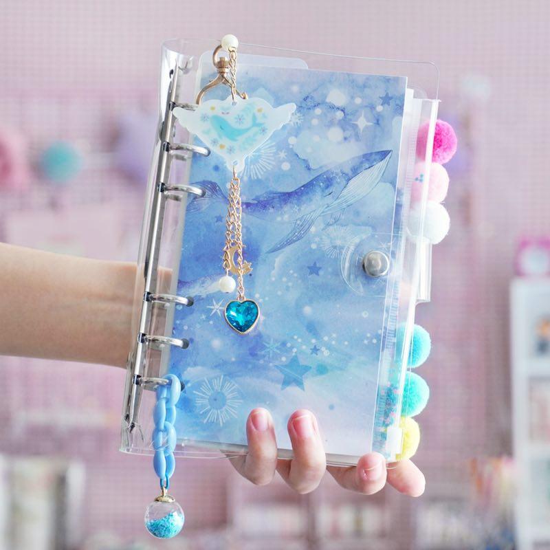 Kawaii Ocean Notebook Diary Set – Limited Edition