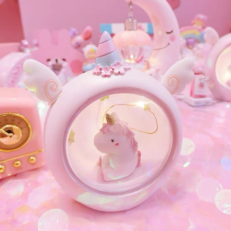 Kawaii Starlight Unicorn Lamp – Limited Edition