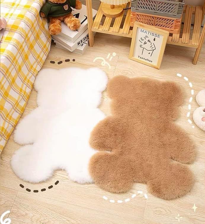 Kawaii Bear Shaped Floor Mat