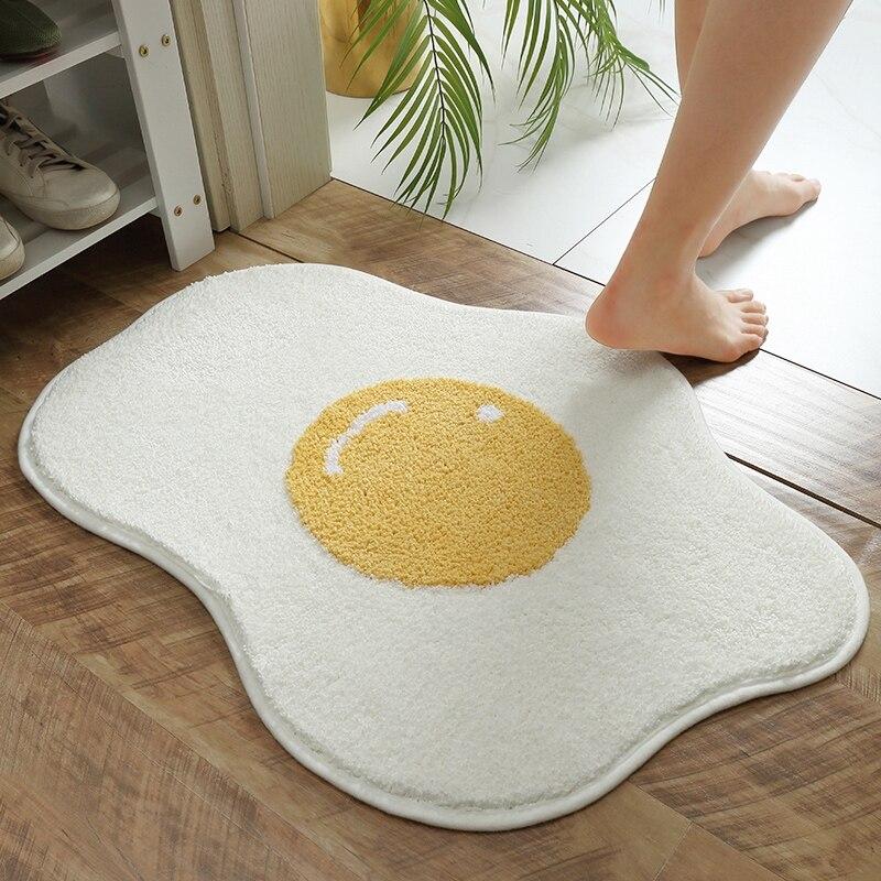Kawaii Egg Yolk Door Mat – Limited Edition