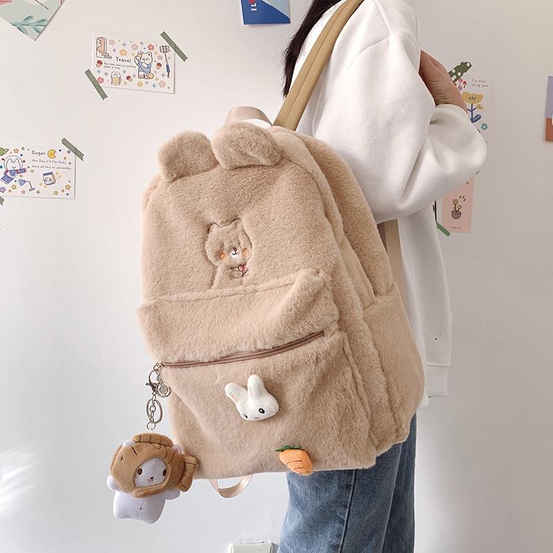 Kawaii Bear Harajuku Backpack – Limited Edition