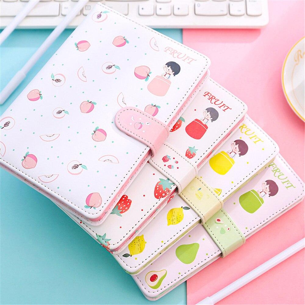 Kawaii Fruit Series Notebook Planner