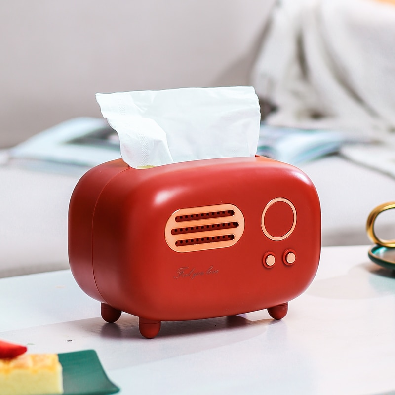 Kawaii Radio Retro Style Tissue Box – Limited Edition