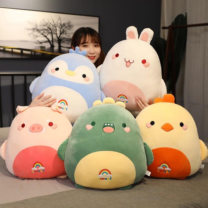 Kawaii Fat Chubby Animal Plush – Limited Edition