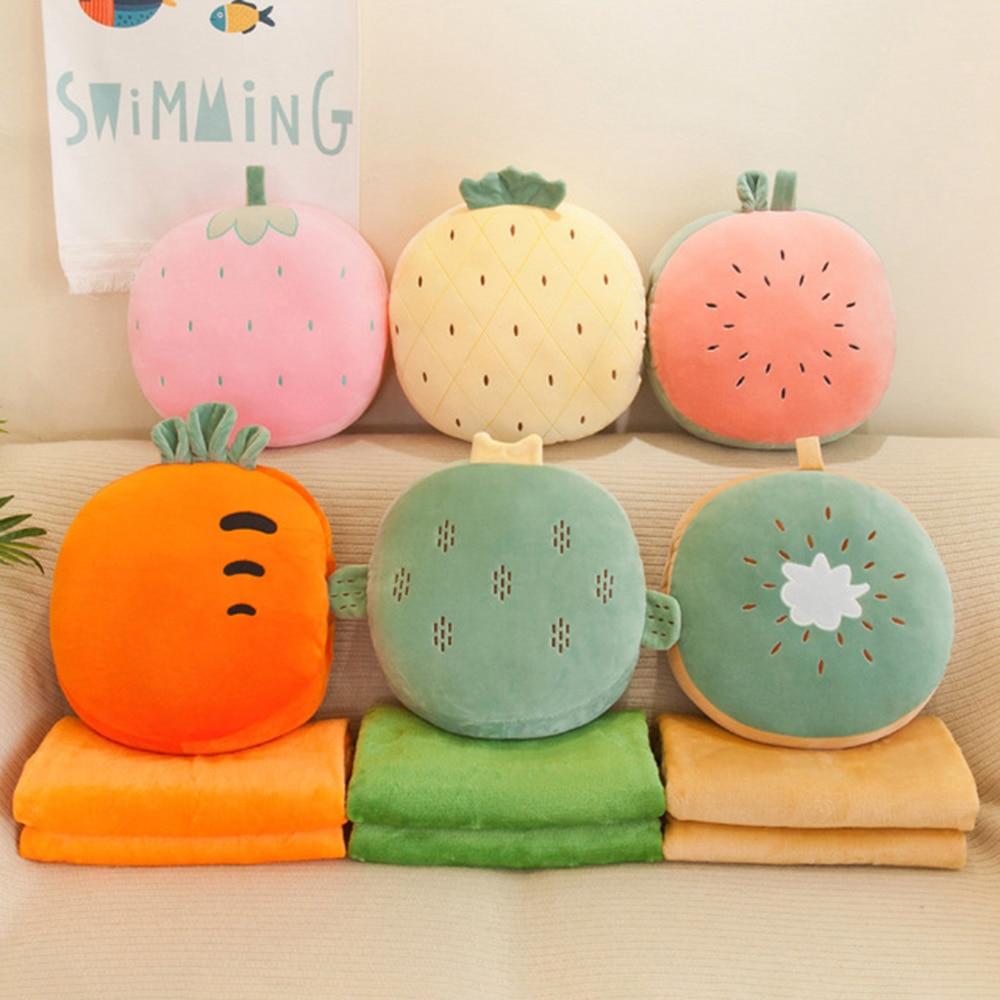 Kawaii Lovely Fruit Plush Cushion – Limited Edition