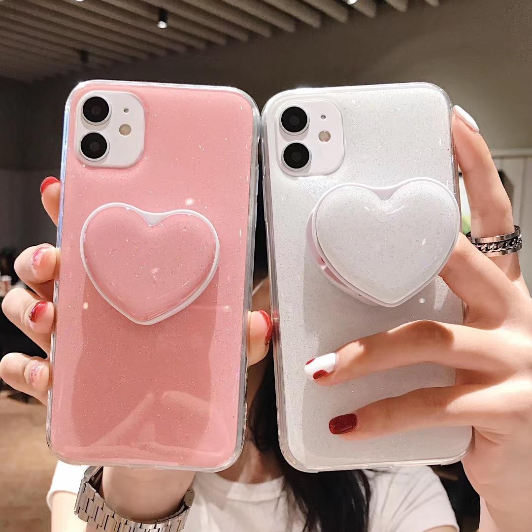 Kawaii Candy Hearts Phone Case